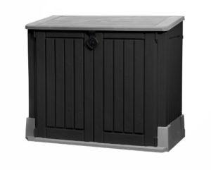 Mülltonnenbox aus Kunststoff