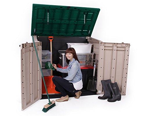 m lltonnenbox ger tebox aus kunststoff m lltonnenbox. Black Bedroom Furniture Sets. Home Design Ideas