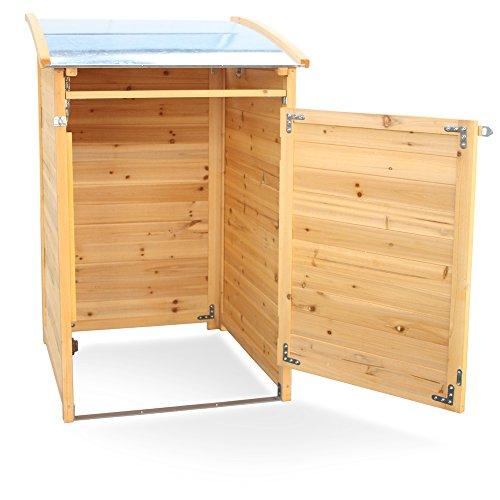 m lltonnenverkleidung holz f r 1 tonne bis 120 liter. Black Bedroom Furniture Sets. Home Design Ideas