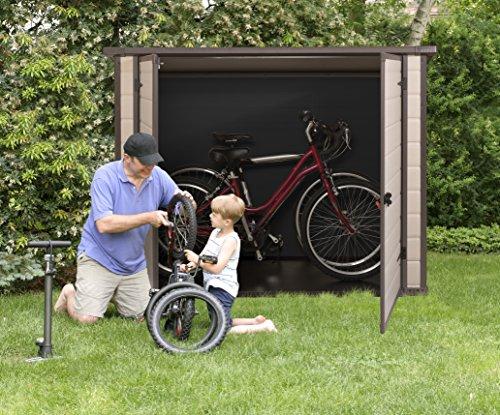 m lltonnenbox aus kunststoff f r 3 m lltonnen bis 240l ger tebox fahrradbox m lltonnenbox. Black Bedroom Furniture Sets. Home Design Ideas
