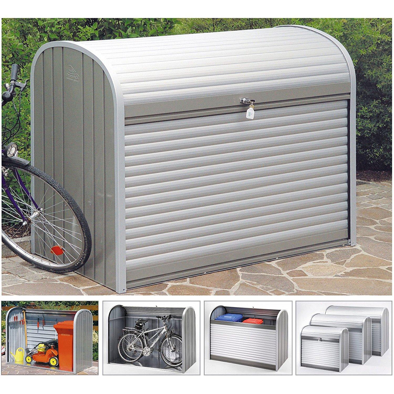 Bekannt Mülltonnenbox Metall, 3 Tonnen je 240l, Fahrradbox - Mülltonnenbox RF85